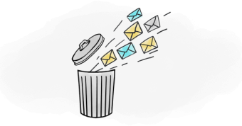 اشتباهات در ارسال ایمیل
