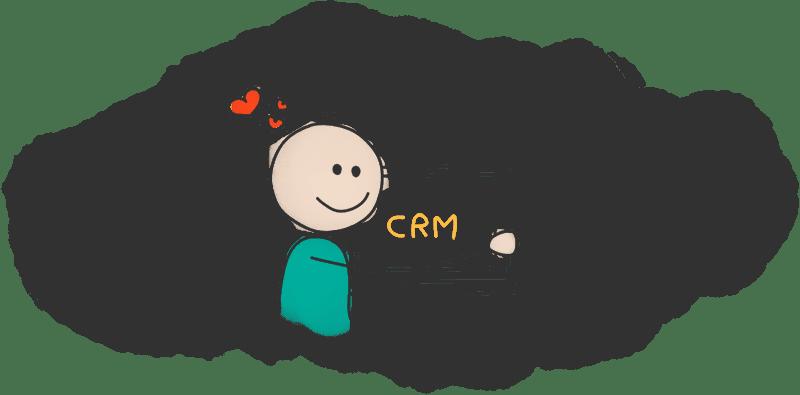 رضایت کارمندان فروش با CRM