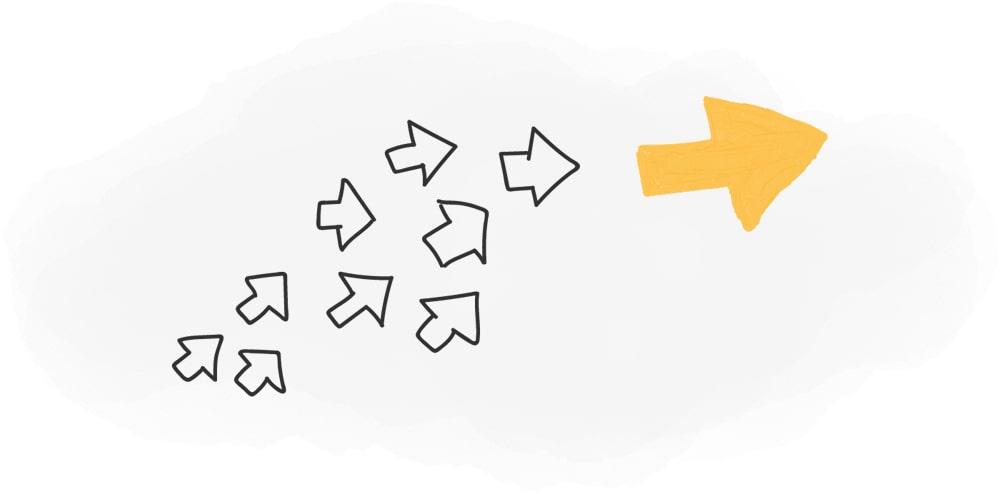 بازی درونی فروش-پیروی از رهبران