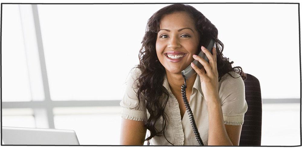 مکالمه بازاریابی تلفنی پر انرژی