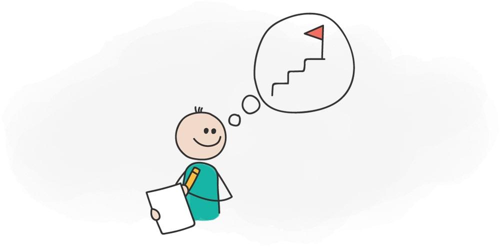روانشناسی فروش-برنامهریزی با اهداف مثبت