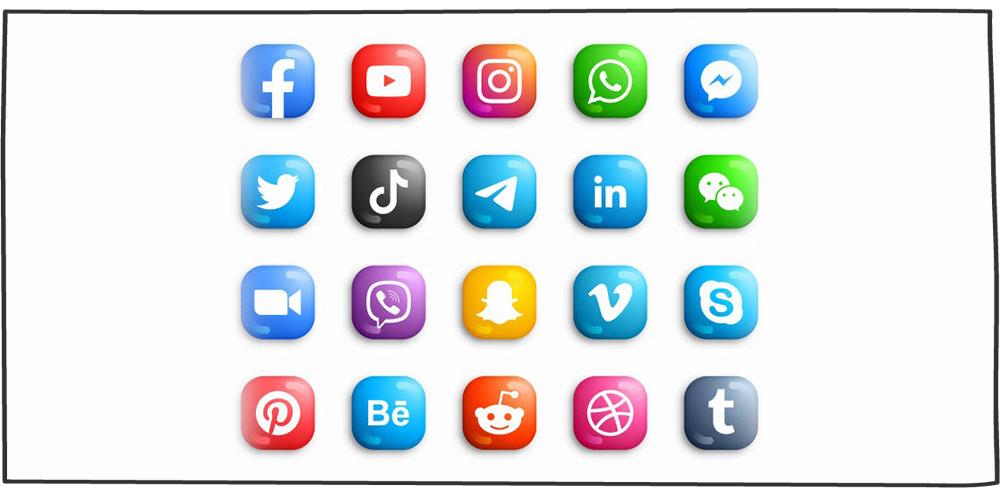 عضویت در شبکههای اجتماعی