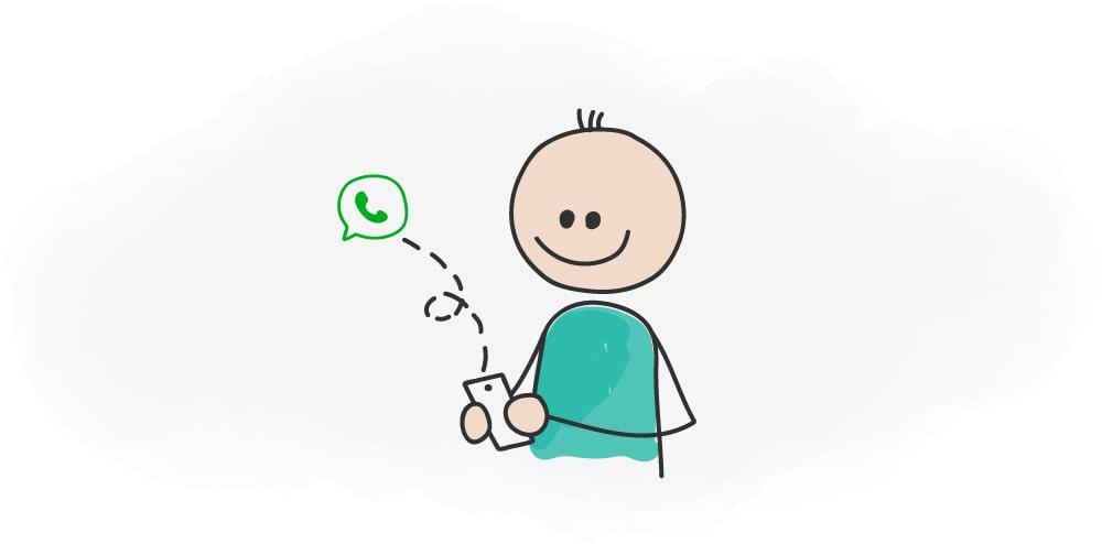 استفاده از واتس اپ برای افزایش فروش