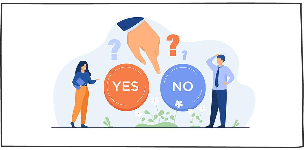 راه حل خطاهای تصمیمگیری