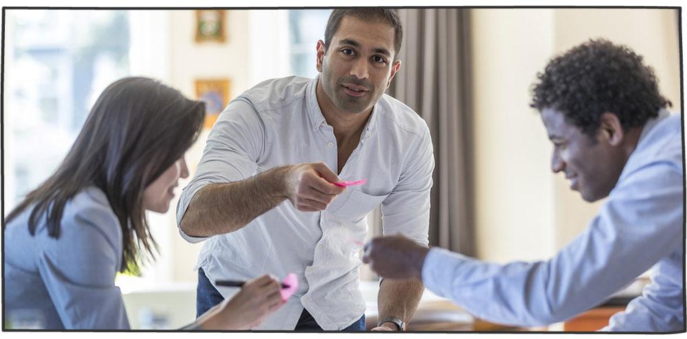 همانگی بین تیم بازاریابی و تیم فروش