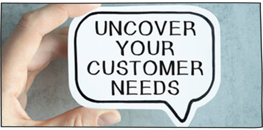 شناسایی انواع نیازهای مشتری