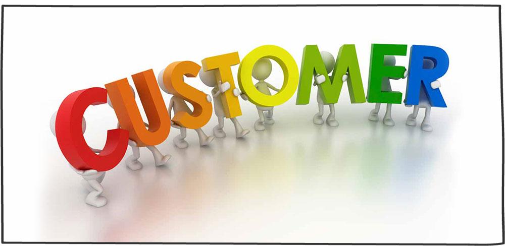 چگونگی برقراری ارتباط با مشتری