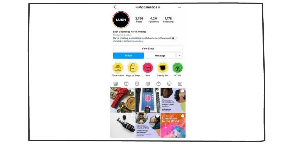 بازاریابی محتوا- اینستاگرام