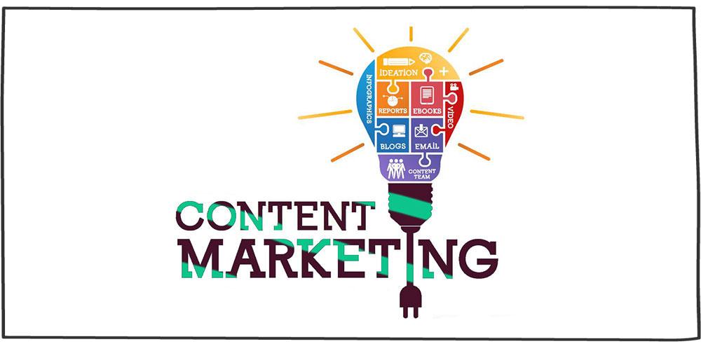 بازاریابی محتوا- content marketing