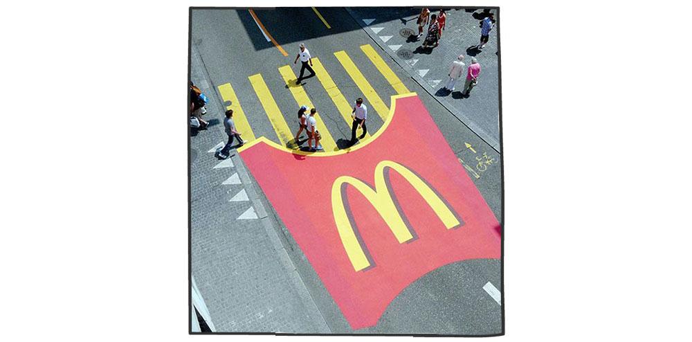 بازاریابی چریکی- مک دونالد