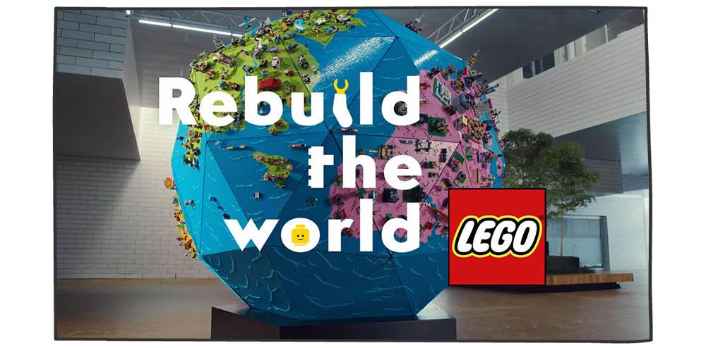 کمپین دیجیتال مارکتینگ- دنیا را دوباره بسازید- لگو