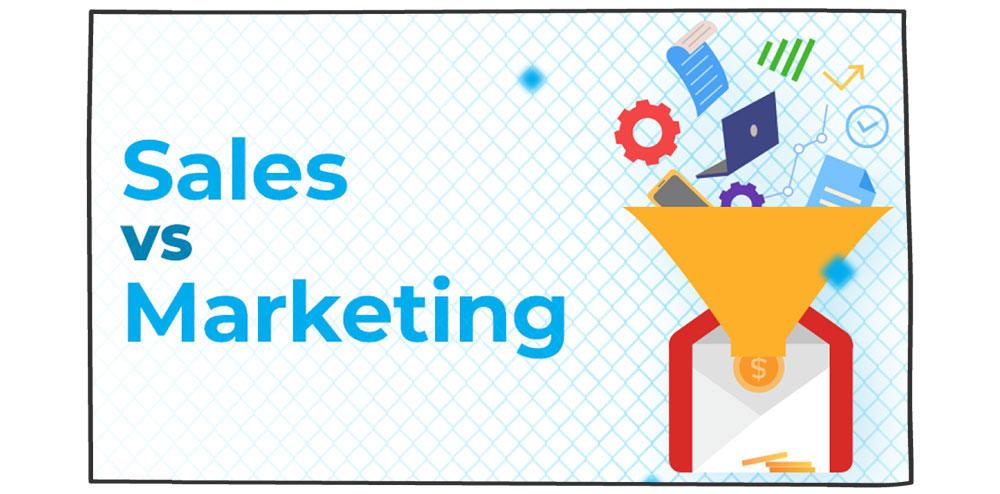 فرق بازاریابی و فروش