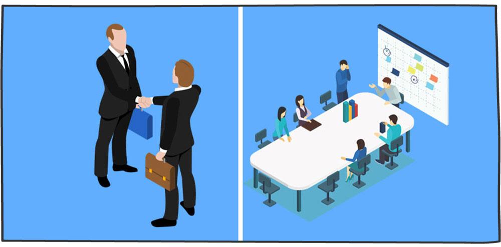 تفاوت بین وظایف مدیر و رهبر