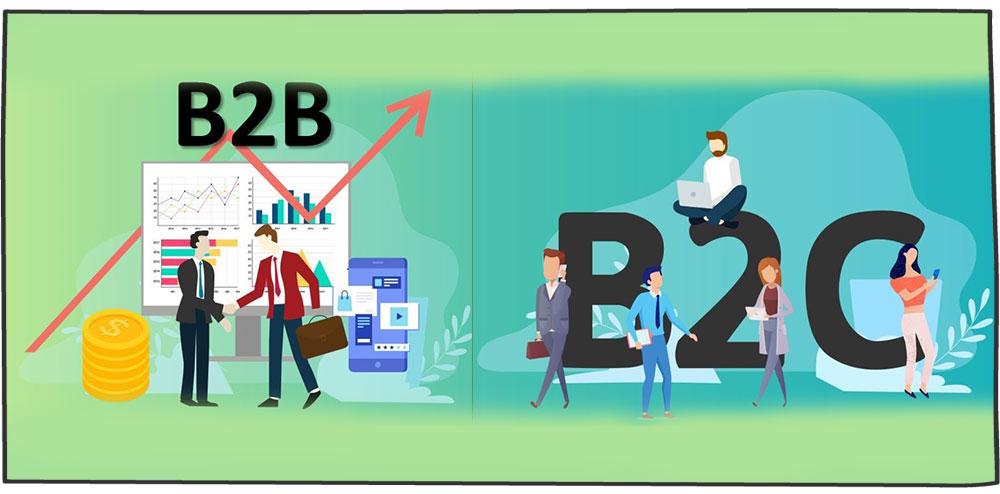 تفاوت crm در b2b و b2c