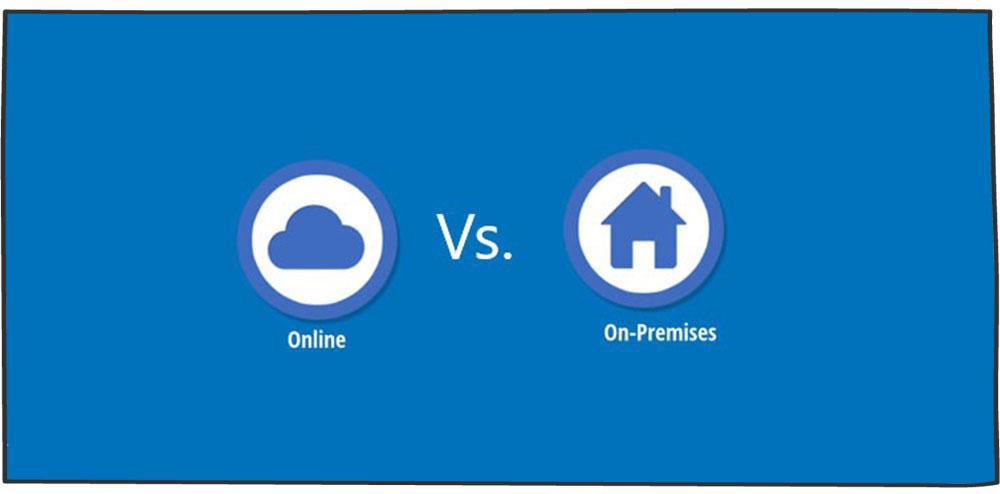 تفاوت crm آنلاین و ابری یا op-permises