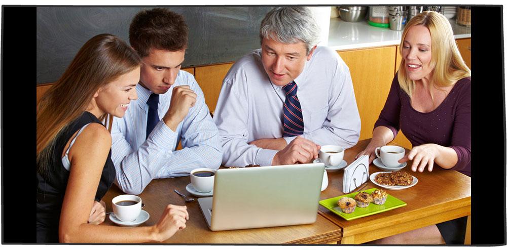 ملاقات تجاری در فضایی دوستانه
