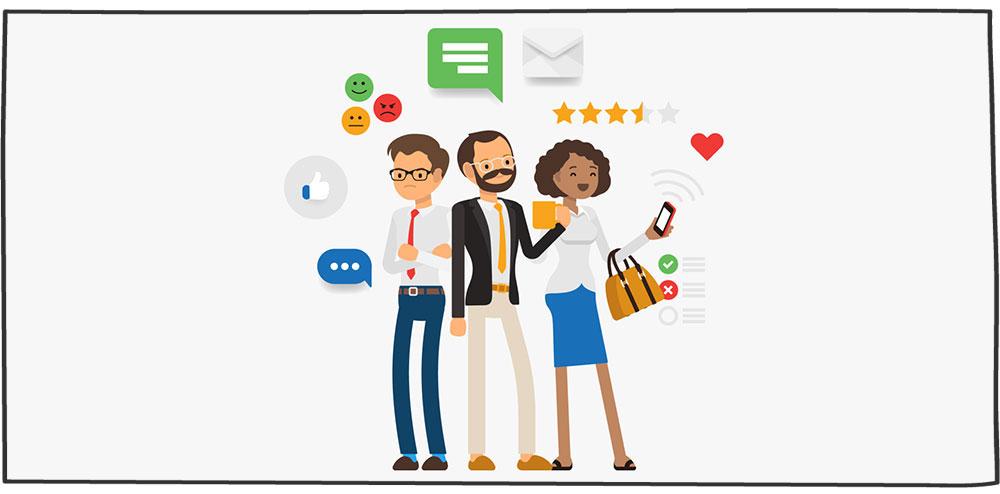 تاثیر نظرسنجی از مشتریان بر نرخ بازگشت مشتری
