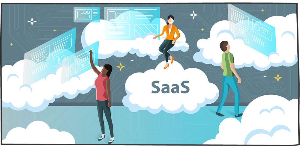 نرم افزار به عنوان سرویس (SaaS)