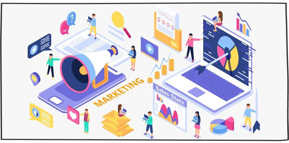 نقش CRM در بازاریابی و فروش
