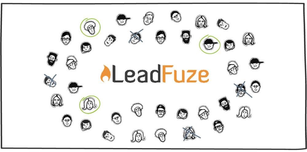 نرم افزار leadfuze