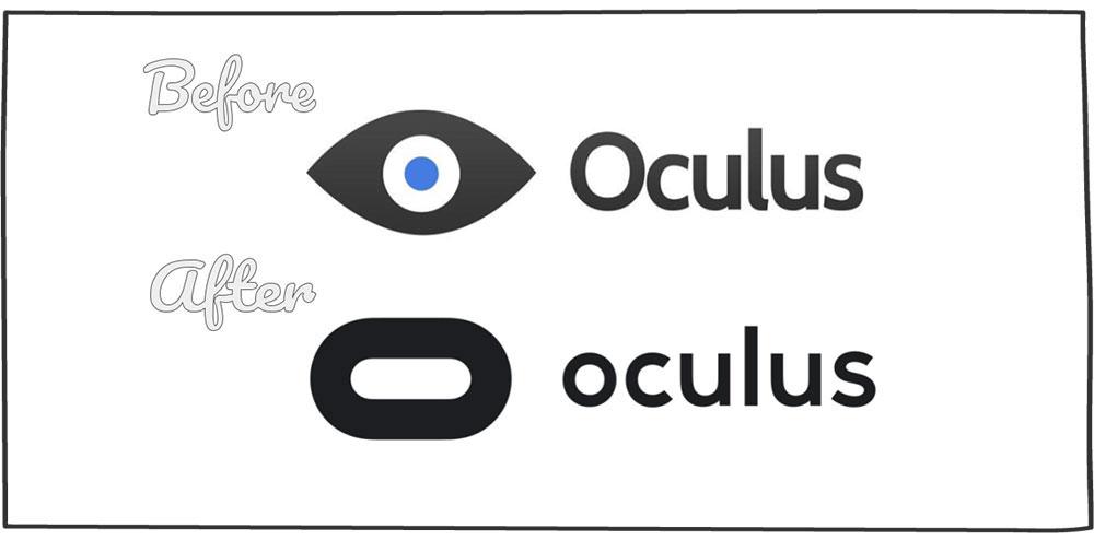 مثال بازسازی برند: شرکت Oculus