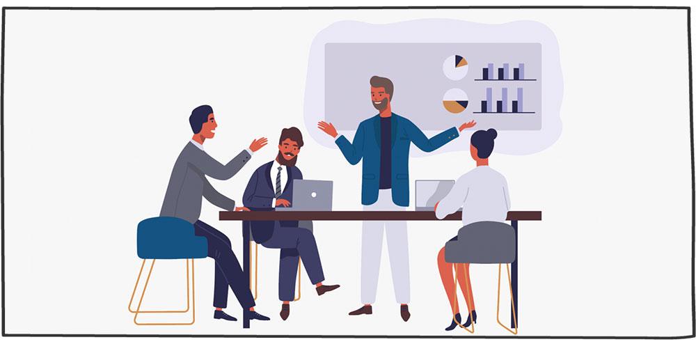 نقش مربی فروش در یادگیری فروشندگان