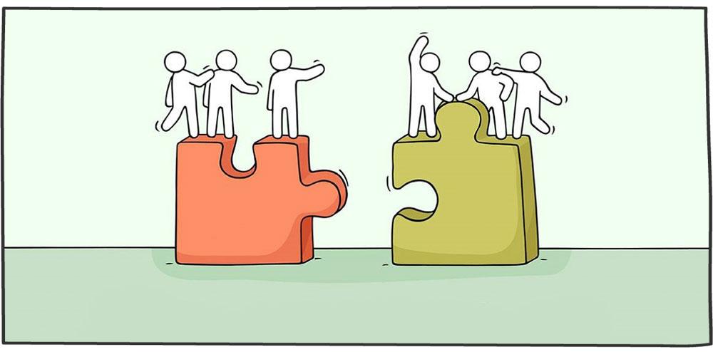 همکاری بین تیمی برای تمرکز بر مشتری
